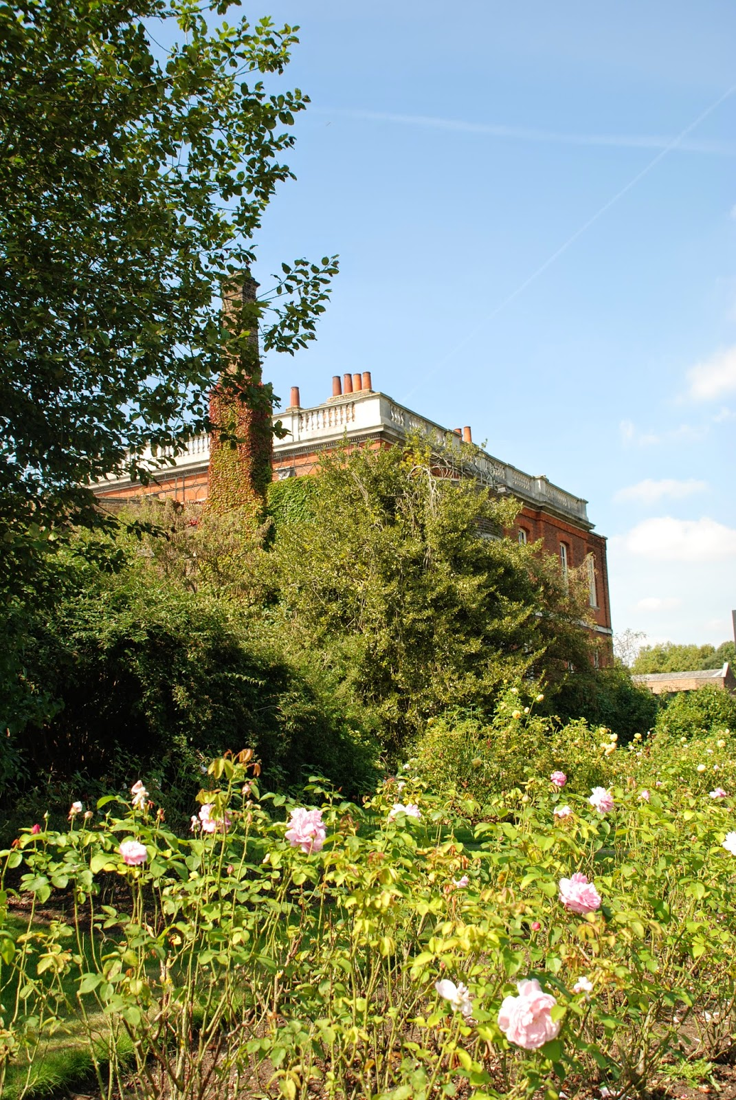 The Ranger's House and the  Rose Garden, Greenwich Park