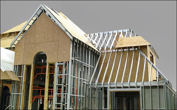paredes steel frame