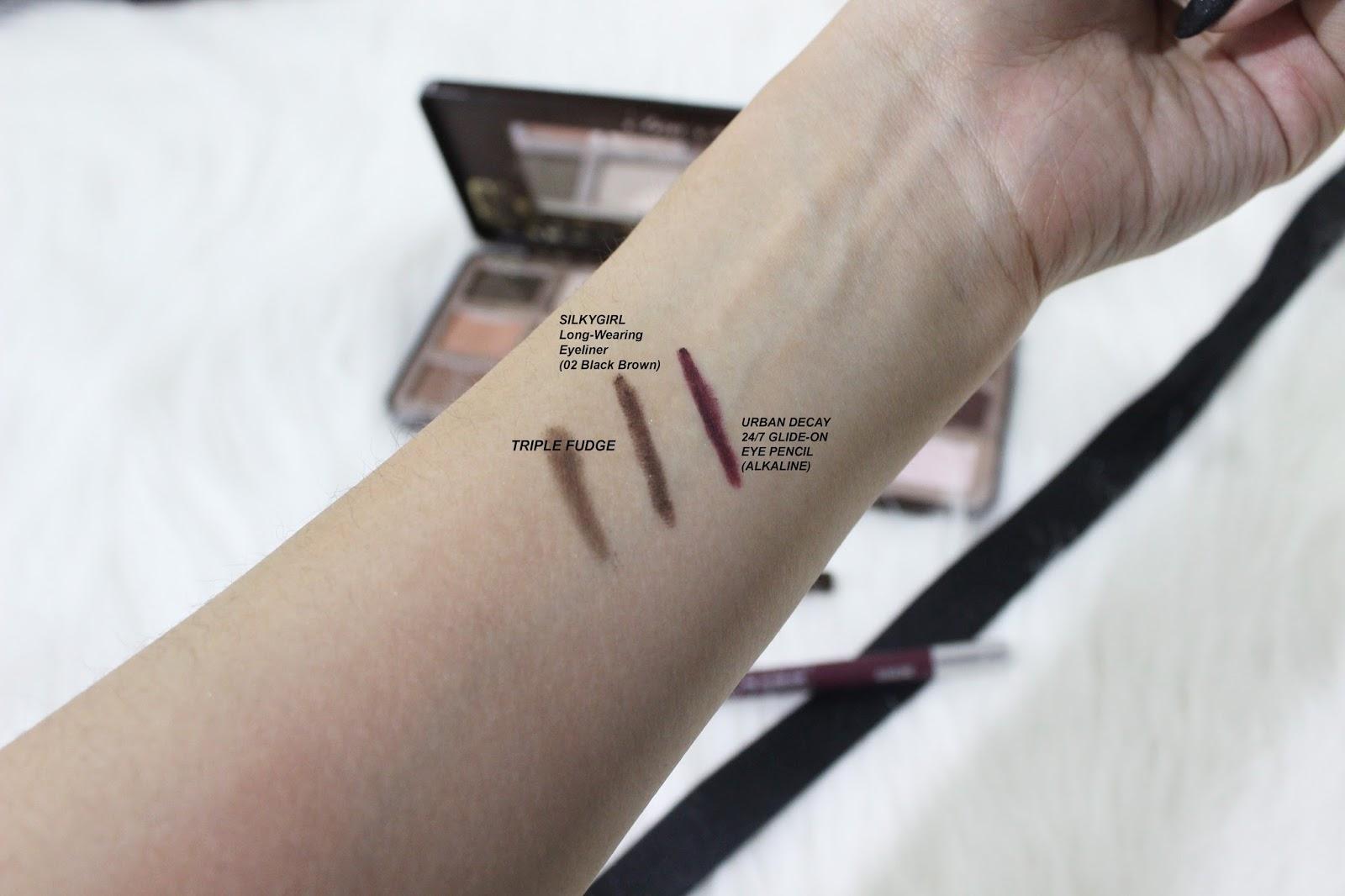 Silkygirl Long Wearing Eyeliner 02 Black Brown Daftar Harga 01 143027 Silky Girl In Is Probably The I Always Get
