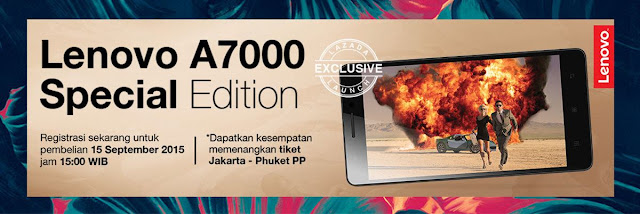 Lenovo A7000 Special Edition Exclusive Launch
