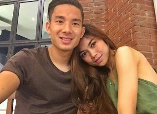 Fakta Profil Biodata dan Foto Kim Jeffrey Kurniawan bersama pacarnya elisa novia