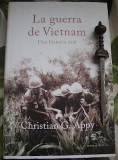 Portada del libro La guerra de Vietnam, de Christian G. Appy