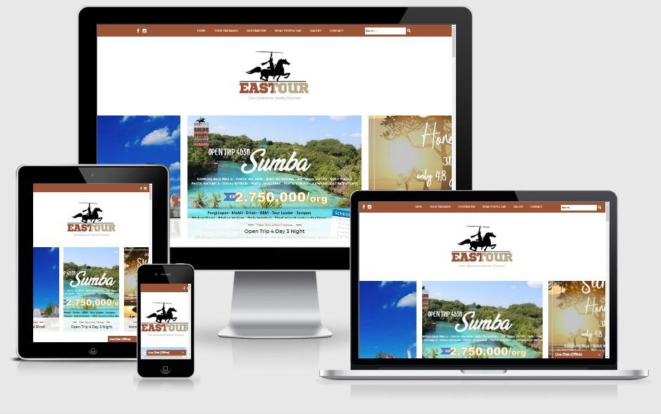 Website TheEastSumba.com