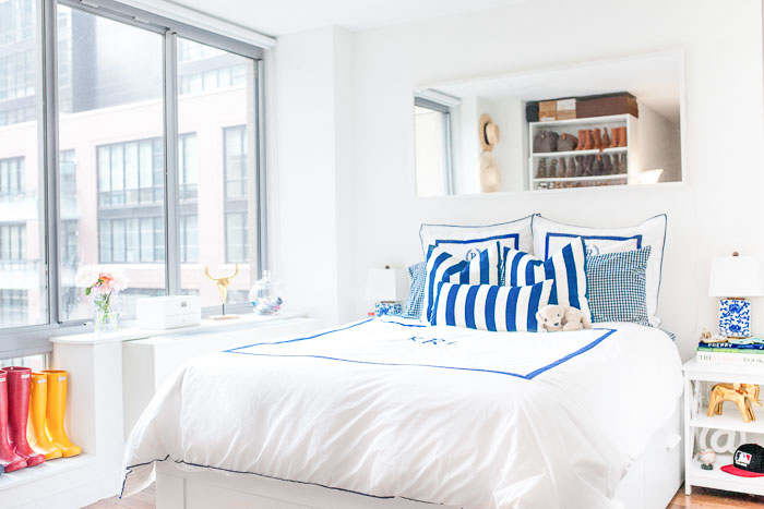 Chelsea NYC Apartment Tour, NYC Apartments, NYC apartment tips, how to decorate a NYC apartment - Chelsea NYC Studio Apartment Tour by popular New York blogger Covering the Bases