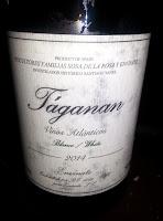 Taganan blanco 2014. Vino de Mesa. Tenerife