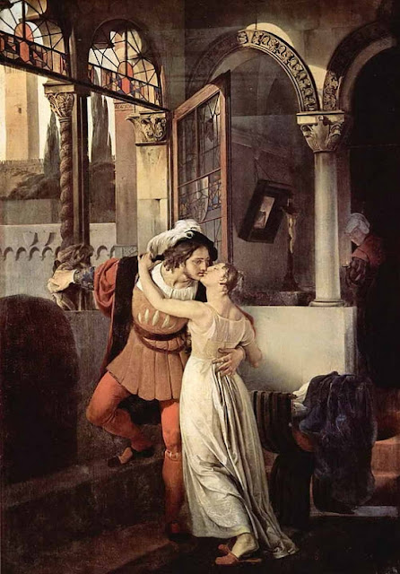 Francesco Hayez - Ромео и Джульетта