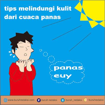 tips menjaga kulit dari sengatan matahari di cuaca panas