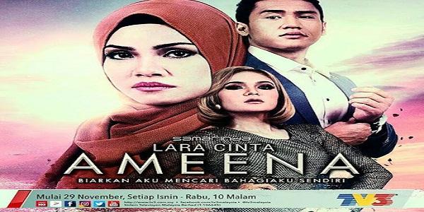 Senarai Pelakon dan Sinopsis Drama Lara Cinta Ameena Slot Samarinda
