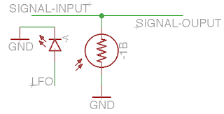 optocoupler tremolo schematic