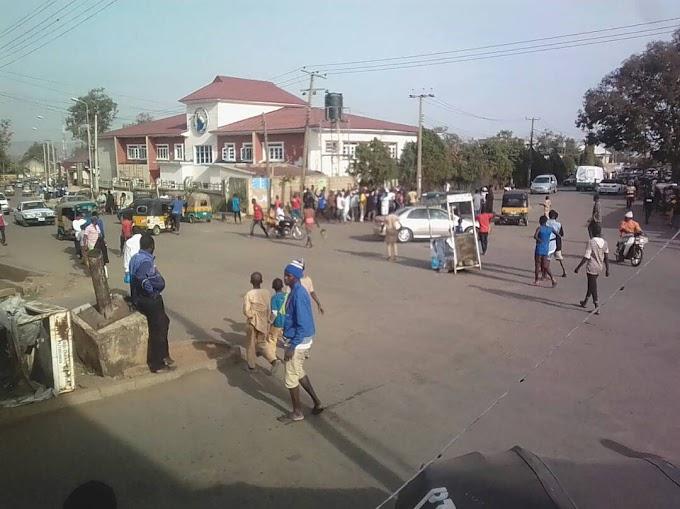 Jos keke napep riders protests