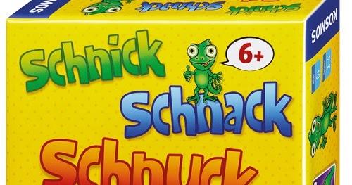 Schnick Schnack Schnuck Spiel