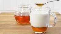 manfaat madu dan susu mengobati batuk kering  secara alami