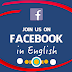 English Facebook Login