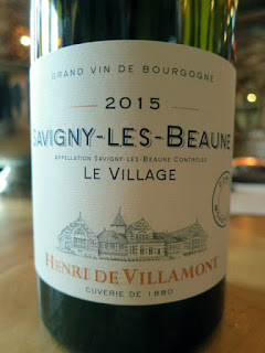 Henri de Villamont Savigny Les Beaune Le Village 2015 (91 pts)