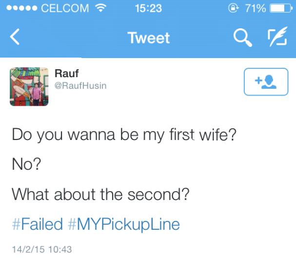 Malaysian Pick-Up Lines a.k.a Ayat Mengorat Orang Malaysia ...
