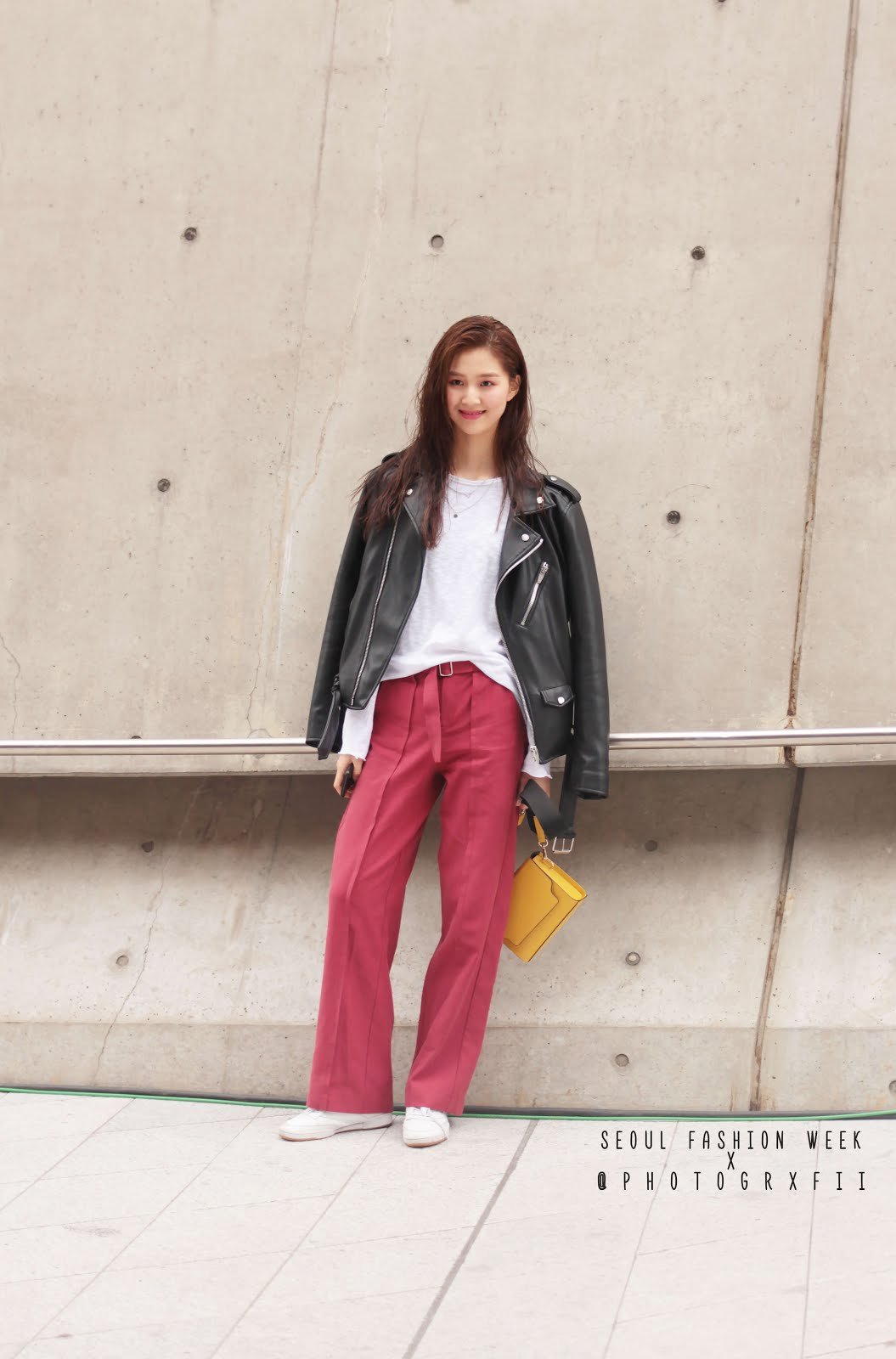 seoul fashion week ss18 female models off duty