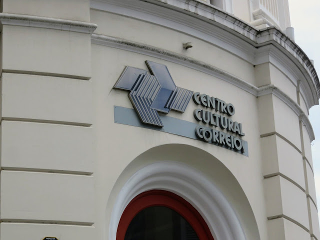 One of many culture centers in Centro district of Rio de Janeiro Brazil