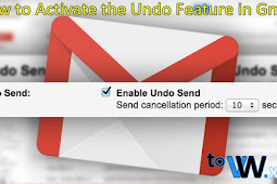How to Activate the Undo Feature on Gmail