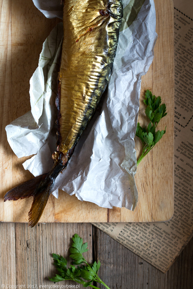 domowy paprykarz szczeciński z wędzoną makrelą