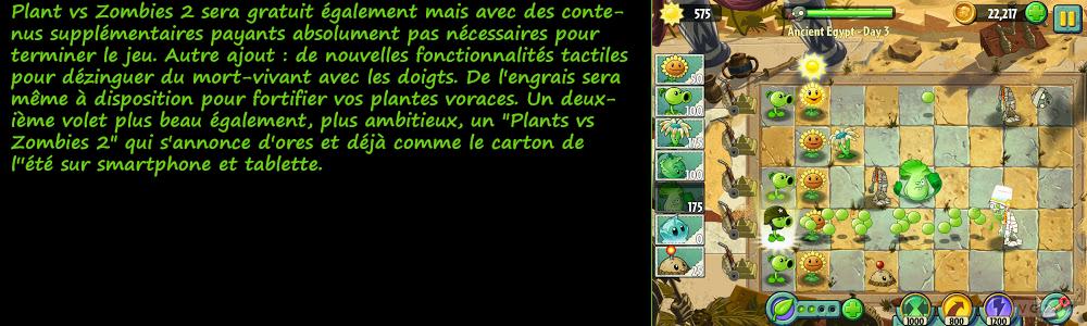 Plants vs Zombies 2 Pour Pc