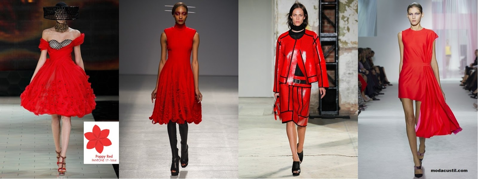 Red Poppy - Colors Spring Summer 2013 Fashion