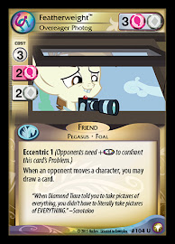 My Little Pony Featherweight, Overeager Photog Equestrian Odysseys CCG Card