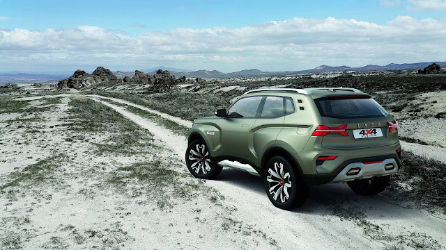 Renault Lada  4x4 Vision Concept  Details & images, Lada  4x4 Vision Concept Photos Gallery, Lada  4x4 Vision Concept Arkana HD Wallpapers and Background Images