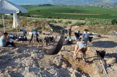 Σπουδαίος μυκηναϊκός τάφος ανακαλύφθηκε κοντά στον Ορχομενό Βοιωτίας