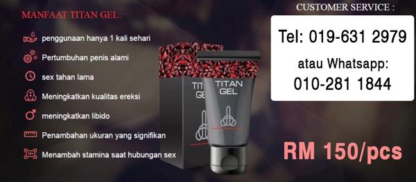 harga titan gel di malaysia