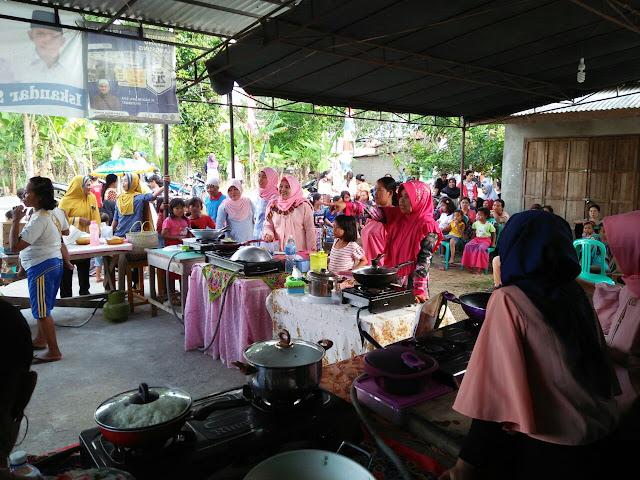 HUT RI ke 73, Desa Ulak Kemang Baru Adakan Berbagai Lomba