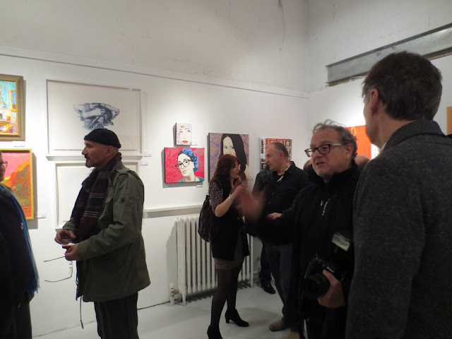 november art salon, 2016, gallery 1313, toronto, toronto art, toronto art gallery, toronto portrait artist, portrait painting, beauty art, malinda prudhomme