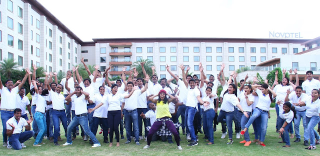Team of Novotel Hyderabad Airport at Employee Celebration Week