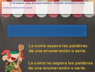 http://www.mundoprimaria.com/juegos-lenguaje/juego-coma/