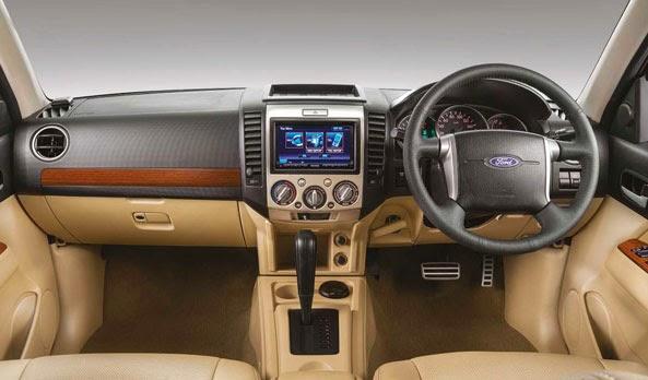 Ford Everst in hitap ettiğ paralrada araçlar sağdan direksiyonlu