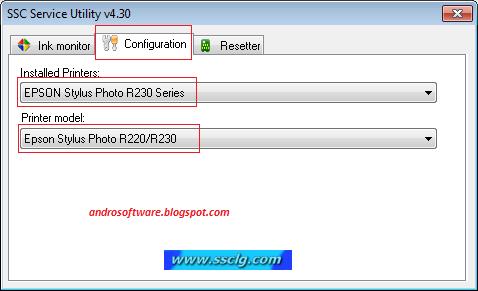 gambar setting cara reset printer epson r230x terbaru 1