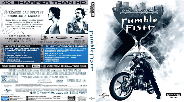 Rumble Fish Bluray Cover