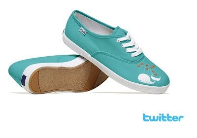 Twitter Shoes - Social Media Shoes