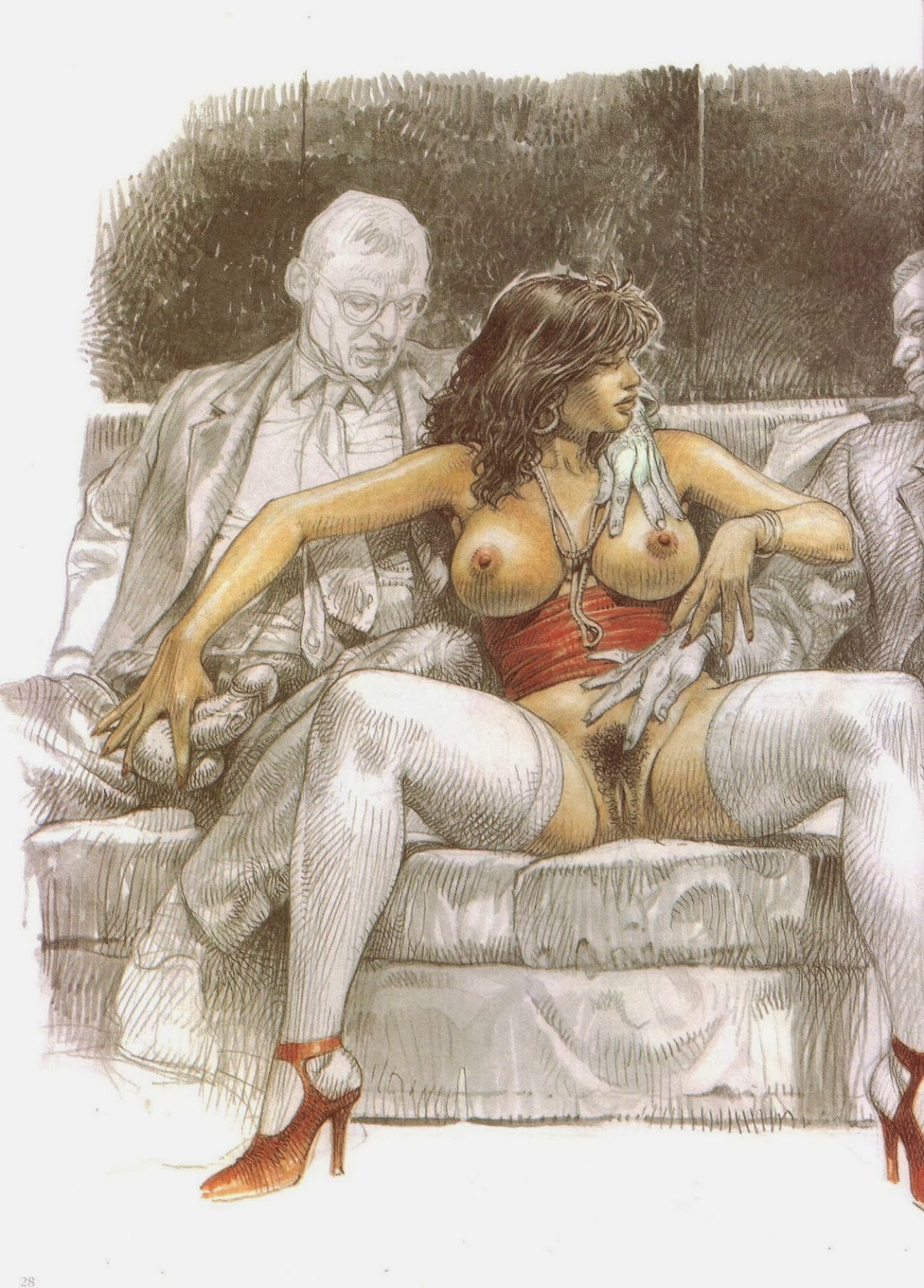 A Short And Sexy History Of Erotic Cartoons