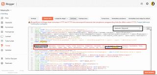 Cara membuat keyword pada sebuah blog blogspot gampang
