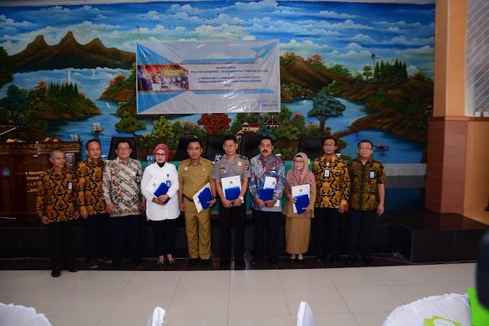 Pencapaian Kinerja Keuangan Bagus Perwakilan BKKBN Provinsi Lampung Terima Penghargaan