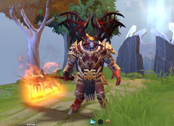 Mod Daemon Prince Of Khorne Doom Mod Skin Dota