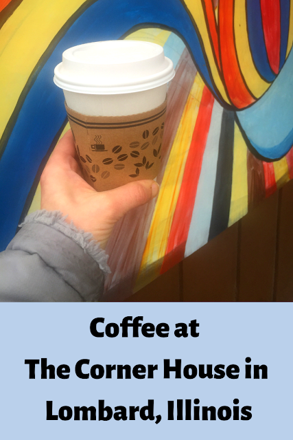Coffee on the Fly at The Corner House in Lombard, Illinois
