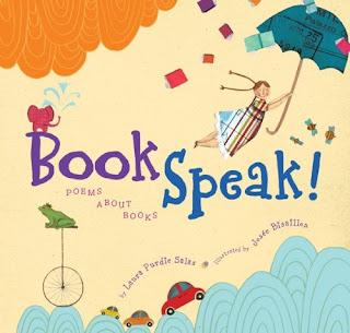 BookSpeak!: Poems About Books front cover