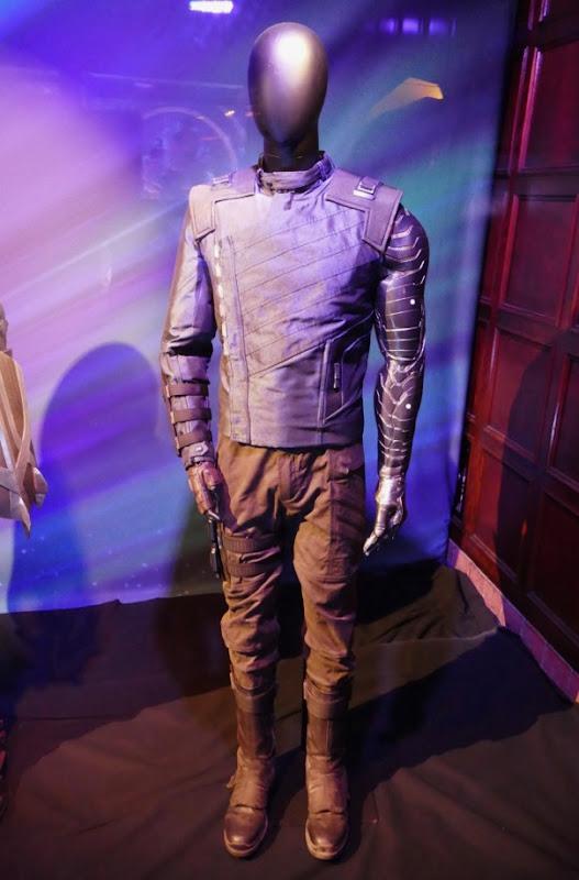 Sebastian Stan Avengers Infinity War Bucky costume