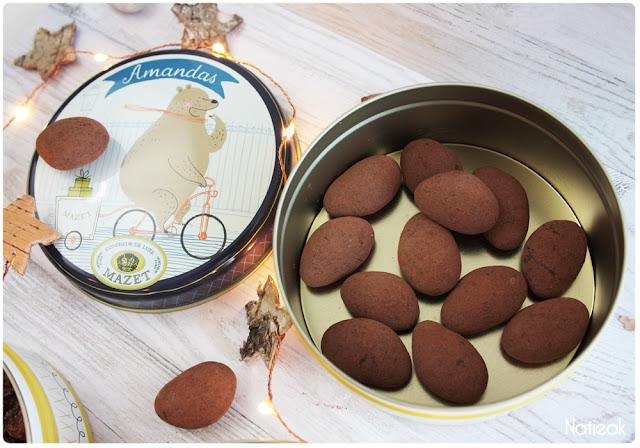 Amanda de Mazet: la nougatine enrobée de chocolat noir