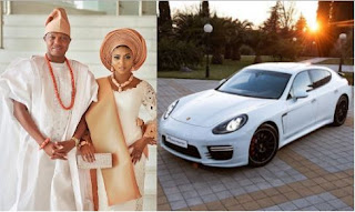 Stephanie Coker Gets N38m Brand New Porsche Car As Wedding Gift From Husband