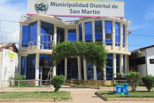 Municipalidad Distrital de San Martin (El Dorado)