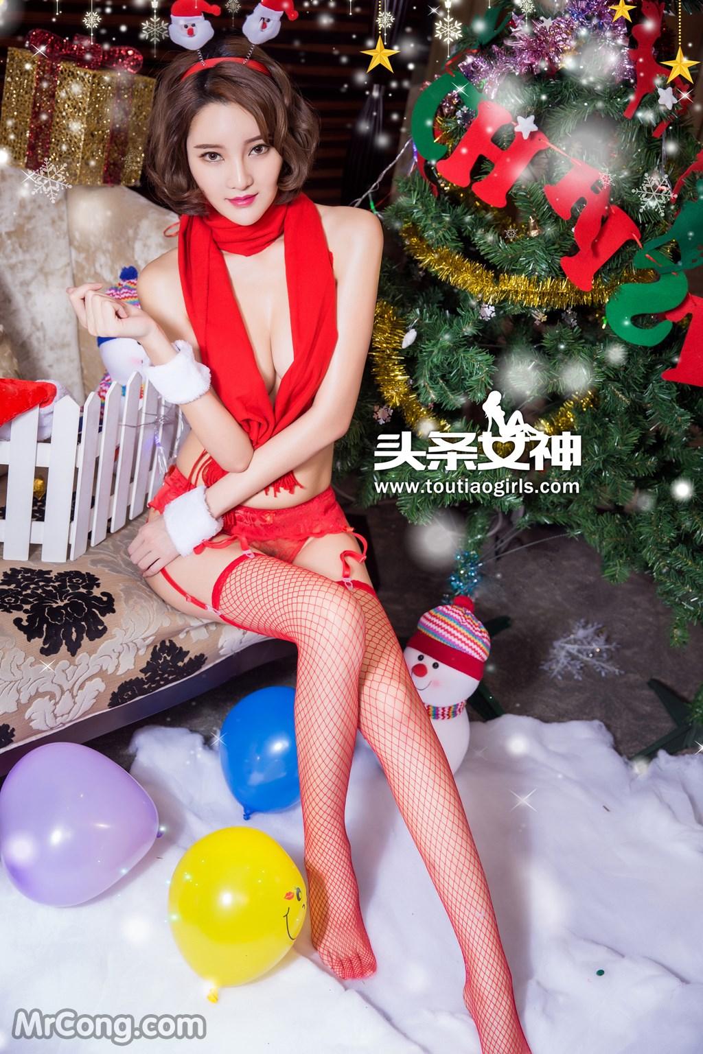 Image MrCong.com-TouTiao-2016-12-24-Wen-Xue-006 in post TouTiao 2016-12-24: Người mẫu Wen Xue (文雪) (38 ảnh)
