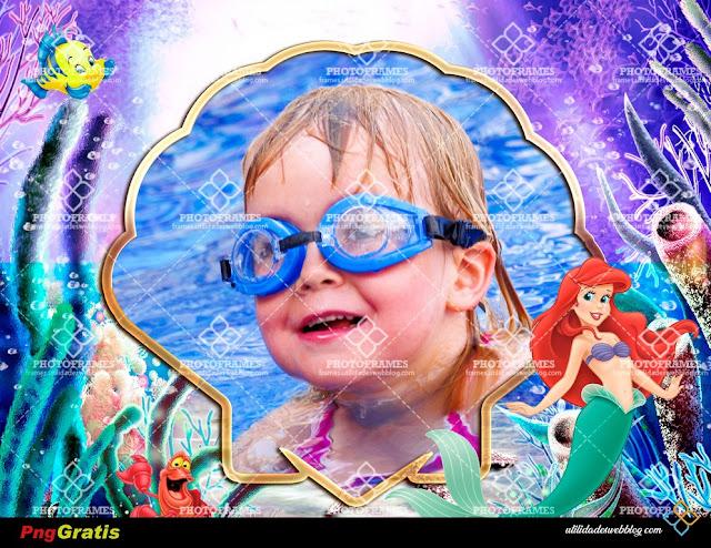 Little Mermaid Ariel Picture Frame