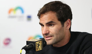 Federer relaxed about No.1 ranking quest in Miami